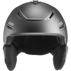 UVEX P1Us 2.0 Casco, black met mat